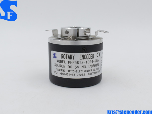 PHF5812 Hollow Shaft Incremental Rotary Encoder